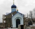 Строительство церкви декабрь 2011г.