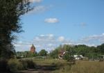 Въезд в село со стороны Шкилевка.