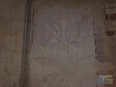 Одна из двух уцелевших фресок. 23.05.2010г.