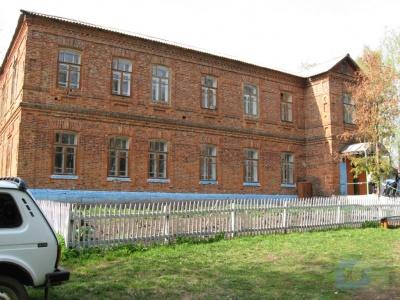 Здание школы.